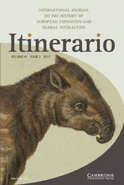 Itinerario Volume 41 - Issue 2 -  Cultural Brokers and the Making of Global Soundscapes, 1880s to 1930s