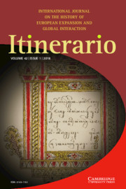 Itinerario Volume 42 - Special Issue1 -  The Private Lives of Empire: Emotion, Intimacy, and Colonial Rule