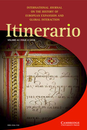 Itinerario Volume 42 - Special Issue2 -  The Indian Ocean of Law: Hybridity and Space
