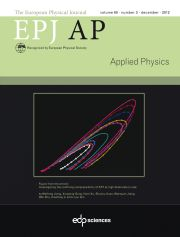 The European Physical Journal - Applied Physics Volume 60 - Issue 3 -
