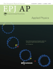 The European Physical Journal - Applied Physics Volume 64 - Issue 1 -