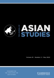 The Journal of Asian Studies