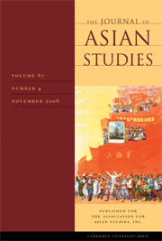 The Journal of Asian Studies Volume 67 - Issue 4 -