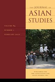 Journal asian studies