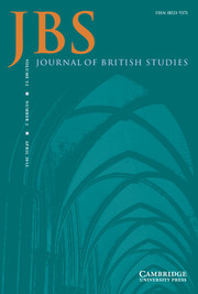 Journal of British Studies Volume 52 - Issue 2 -