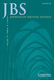 Journal of British Studies Volume 55 - Issue 2 -