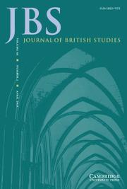 Journal of British Studies Volume 60 - Issue 2 -