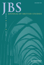 Journal of British Studies Volume 60 - Issue 3 -