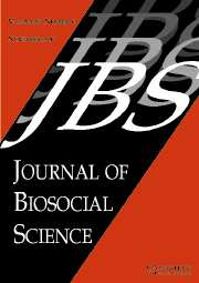 Journal of Biosocial Science Volume 39 - Issue 6 -