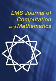 LMS Journal of Computation and Mathematics Volume 12 - Issue  -
