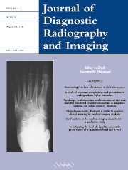 Journal of Diagnostic Radiography and Imaging Volume 5 - Issue 2 -
