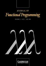Journal of Functional Programming Volume 14 - Issue 3 -