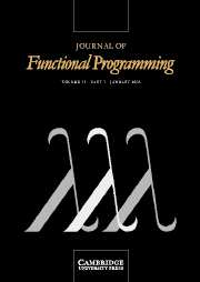 Journal of Functional Programming Volume 15 - Issue 1 -