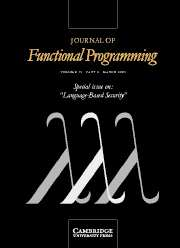 Journal of Functional Programming Volume 15 - Issue 2 -