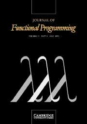 Journal of Functional Programming Volume 15 - Issue 4 -