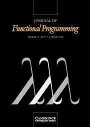 Journal of Functional Programming Volume 16 - Issue 1 -