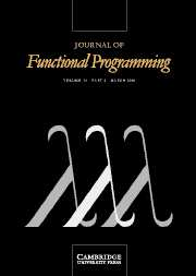 Journal of Functional Programming Volume 16 - Issue 2 -