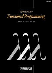 Journal of Functional Programming Volume 16 - Issue 3 -