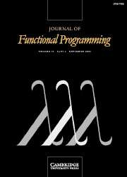Journal of Functional Programming Volume 16 - Issue 6 -