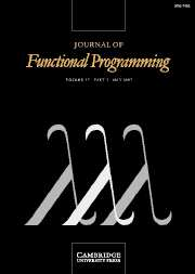 Journal of Functional Programming Volume 17 - Issue 3 -