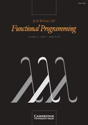 Journal of Functional Programming Volume 18 - Issue 2 -