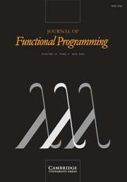 Journal of Functional Programming Volume 18 - Issue 3 -