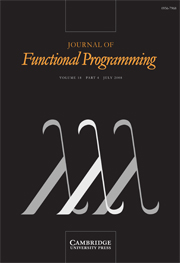 Journal of Functional Programming Volume 18 - Issue 4 -