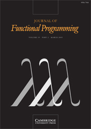 Journal of Functional Programming Volume 19 - Issue 2 -