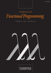 Journal of Functional Programming Volume 20 - Issue 1 -