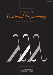Journal of Functional Programming Volume 21 - Issue 1 -