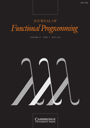 Journal of Functional Programming Volume 21 - Issue 3 -