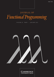Journal of Functional Programming Volume 22 - Issue 1 -