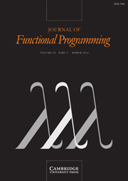 Journal of Functional Programming Volume 22 - Issue 2 -