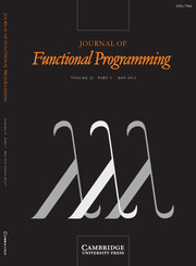 Journal of Functional Programming Volume 22 - Issue 3 -