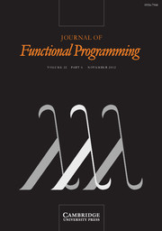 Journal of Functional Programming Volume 22 - Issue 6 -
