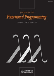 Journal of Functional Programming Volume 23 - Issue 2 -