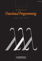 Journal of Functional Programming Volume 24 - Issue 4 -