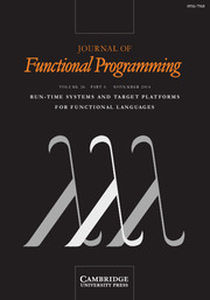 Journal of Functional Programming Volume 24 - Issue 6 -  Run-Time Systems and Target Platforms for Functional Languages
