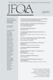 Journal of Financial and Quantitative Analysis Volume 45 - Issue 1 -