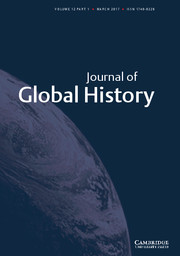 Journal of Global History Volume 12 - Issue 1 -