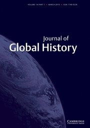 Journal of Global History Volume 14 - Issue 1 -