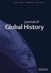 Journal of Global History Volume 15 - Issue 3 -  Special Issue: Pandemics that Changed the World. Historical Reflections on COVID-19