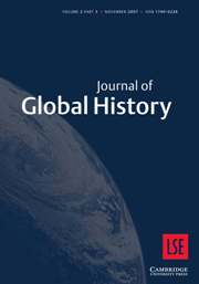 Journal of Global History Volume 2 - Issue 3 -