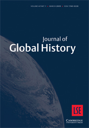 Journal of Global History Volume 4 - Issue 1 -