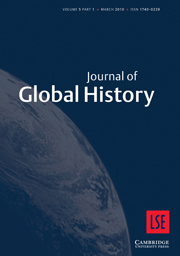 Journal of Global History Volume 5 - Issue 1 -