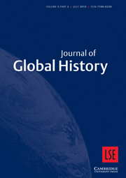 Journal of Global History Volume 5 - Issue 2 -