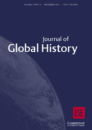 Journal of Global History Volume 7 - Issue 3 -