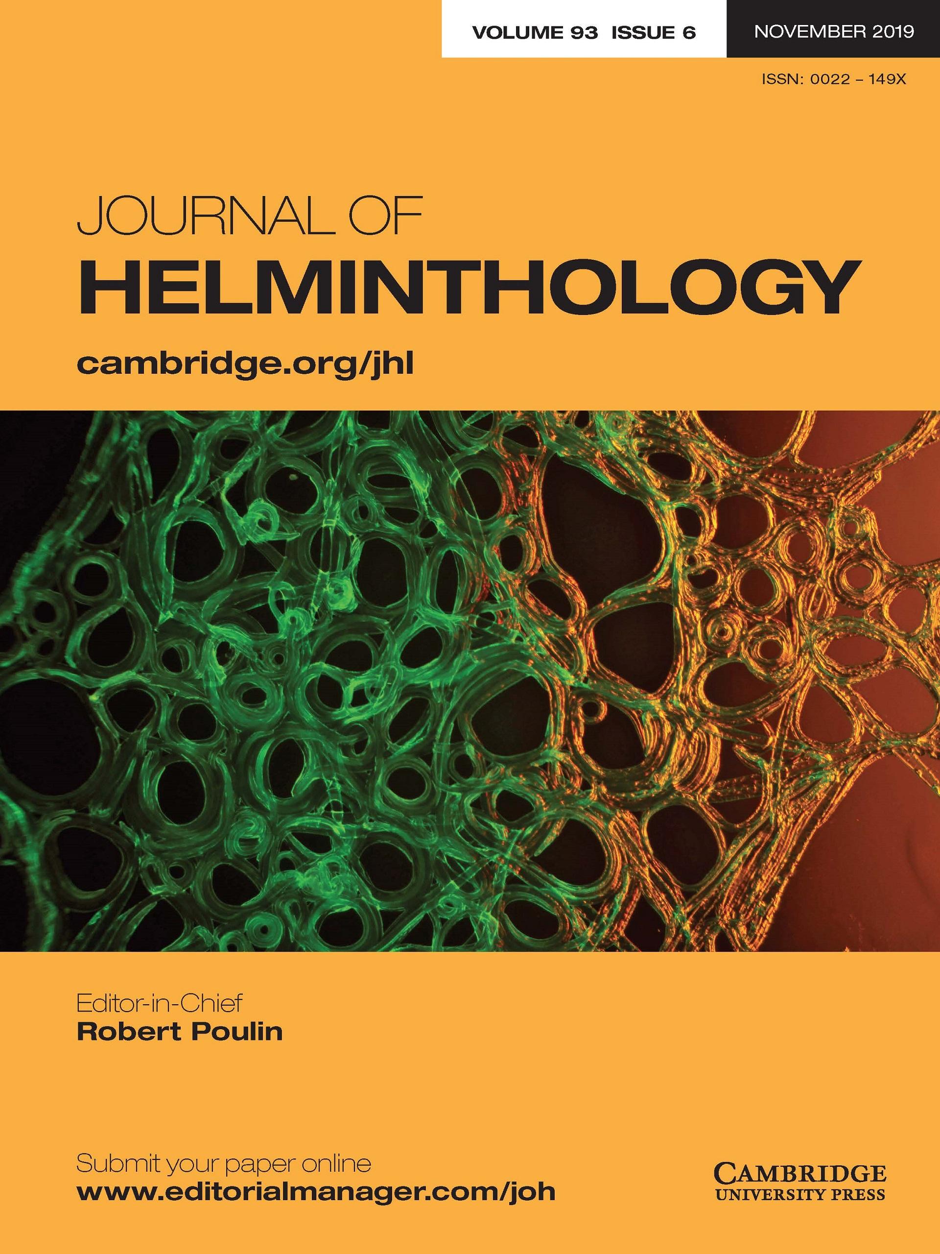 Journal of Helminthology | Cambridge Core
