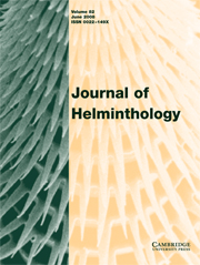 Journal of Helminthology Volume 82 - Issue 2 -