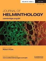Journal of Helminthology Volume 92 - Issue 4 -